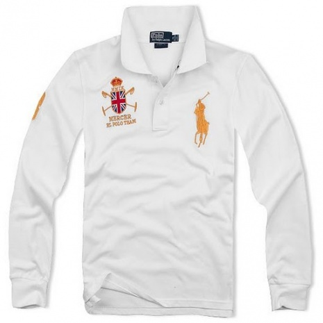 $20.5, Polo By Ralph Lauren Long-Sleeved Shirts for Men #6209