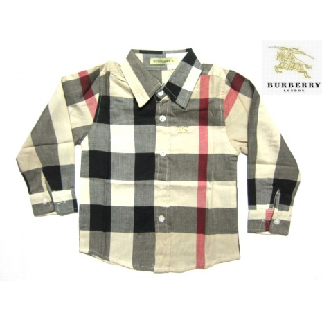 $18.0, Burberry Long-Sleeved T-Shirts for Kid #43292