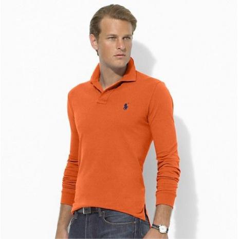 $18.0, Ralph Lauren Long-Sleeved Polo Shirts for MEN #46210