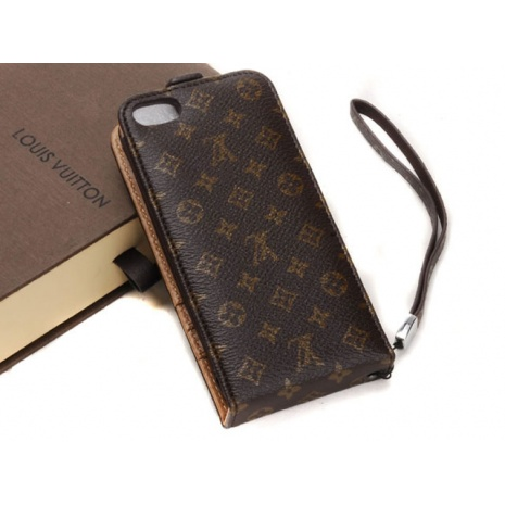 $44.0, New Louis Vuitton leather iPhone 5 case wallet #48210