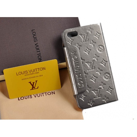 $32.0, New Louis Vuitton iPhone 5 AAA+ Leather case #58226