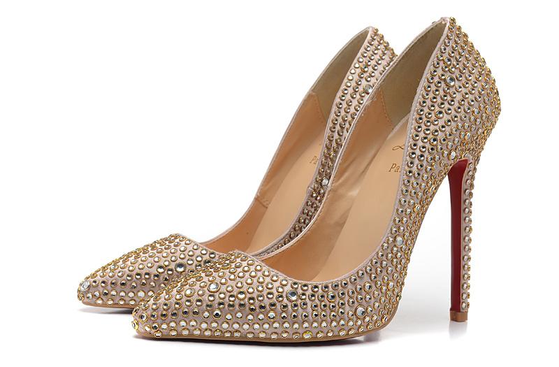 $87 cheap Christian Louboutin 12CM High-heeled shoes #91846 - [GT091846] free shipping | Replica Christian Louboutin Shoes for Women's Christian Louboutin High-heeled shoes
