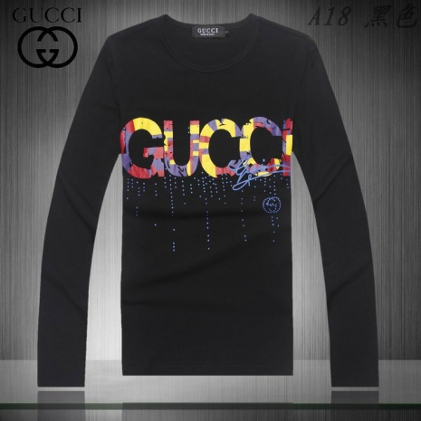 $19.0, Gucci Long-sleeved Polo Shirts for MEN #93947