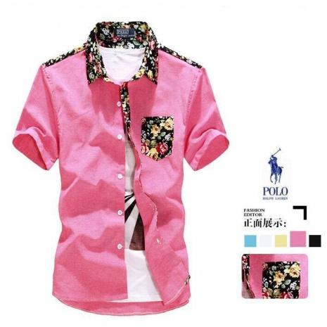 $30.0, Ralph Lauren Short-Sleeved Shirts for Men #118154