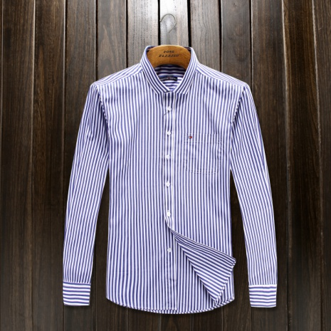 $37.0, T0MMY HILFIGER Long-Sleeved Shirts for Men #152059