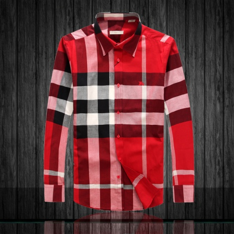 $39.0, Men's Burberry Long-Sleeved Shirts #152066