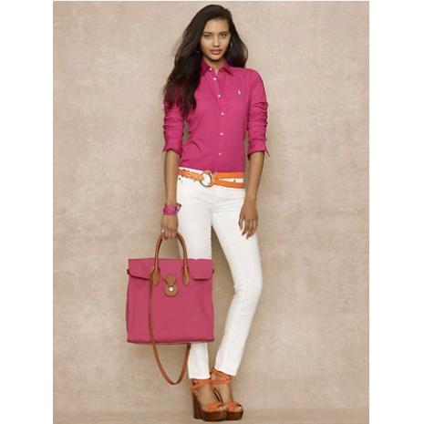 $23.0, Ralph Lauren Long-Sleeved Shirts for Women #163071