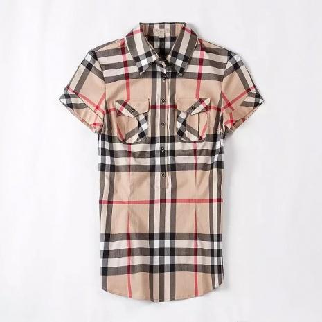 $32.0, Women's Burberry Short-Sleeved Shirts #182513