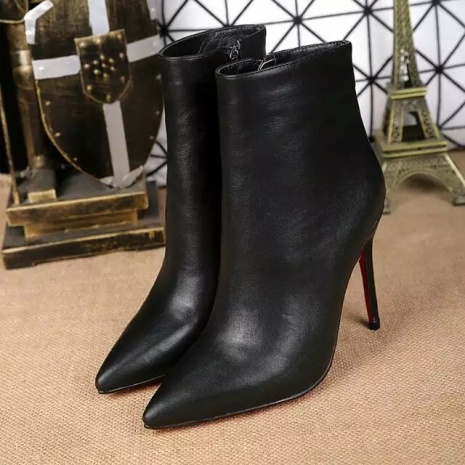 $119.0, Christian Louboutin 10cm Boots shoes for women #201184