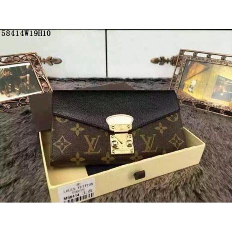 $64.0, Louis Vuitton AAA+ Wallet #202433
