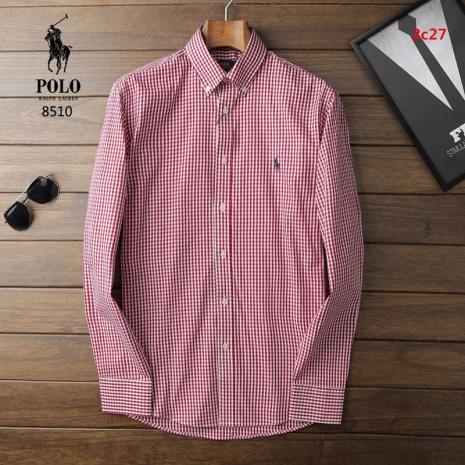 $37.0, Ralph Lauren Long-Sleeved Shirts for Men #225563