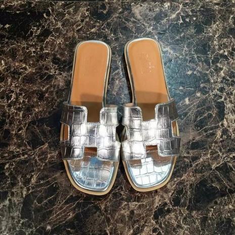 $60.0, HERMES slippers for women #226168