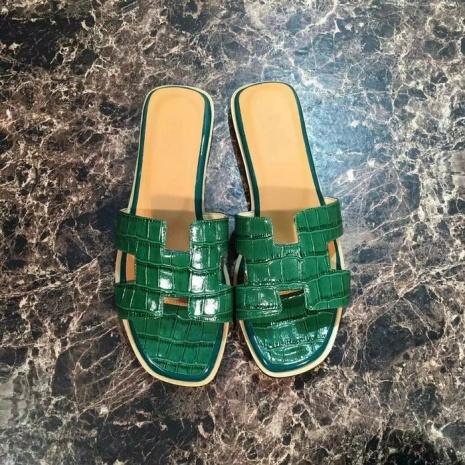 $60.0, HERMES slippers for women #226169