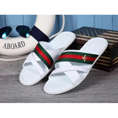 $55.0, Men's Gucci Slippers #228611
