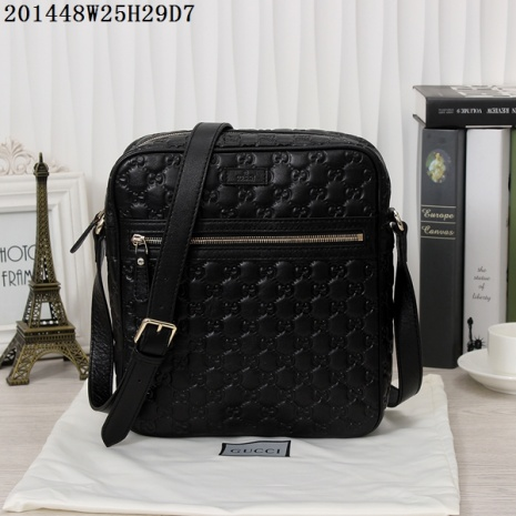 $155.0, Gucci AAA+ Men's Messenger Bags #234765