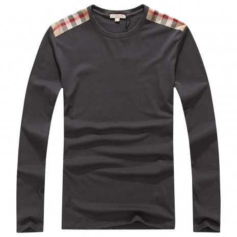 $37.0, Burberry Long-Sleeved T-Shirts for MEN #238133