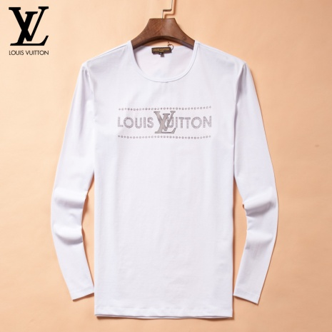$28.0, Louis Vuitton Long-Sleeved T-shirts for MEN #244279