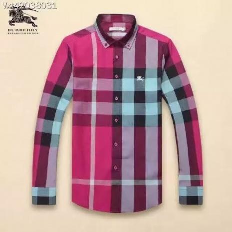 $44.0, Men's Burberry Long-Sleeved Shirts #245291
