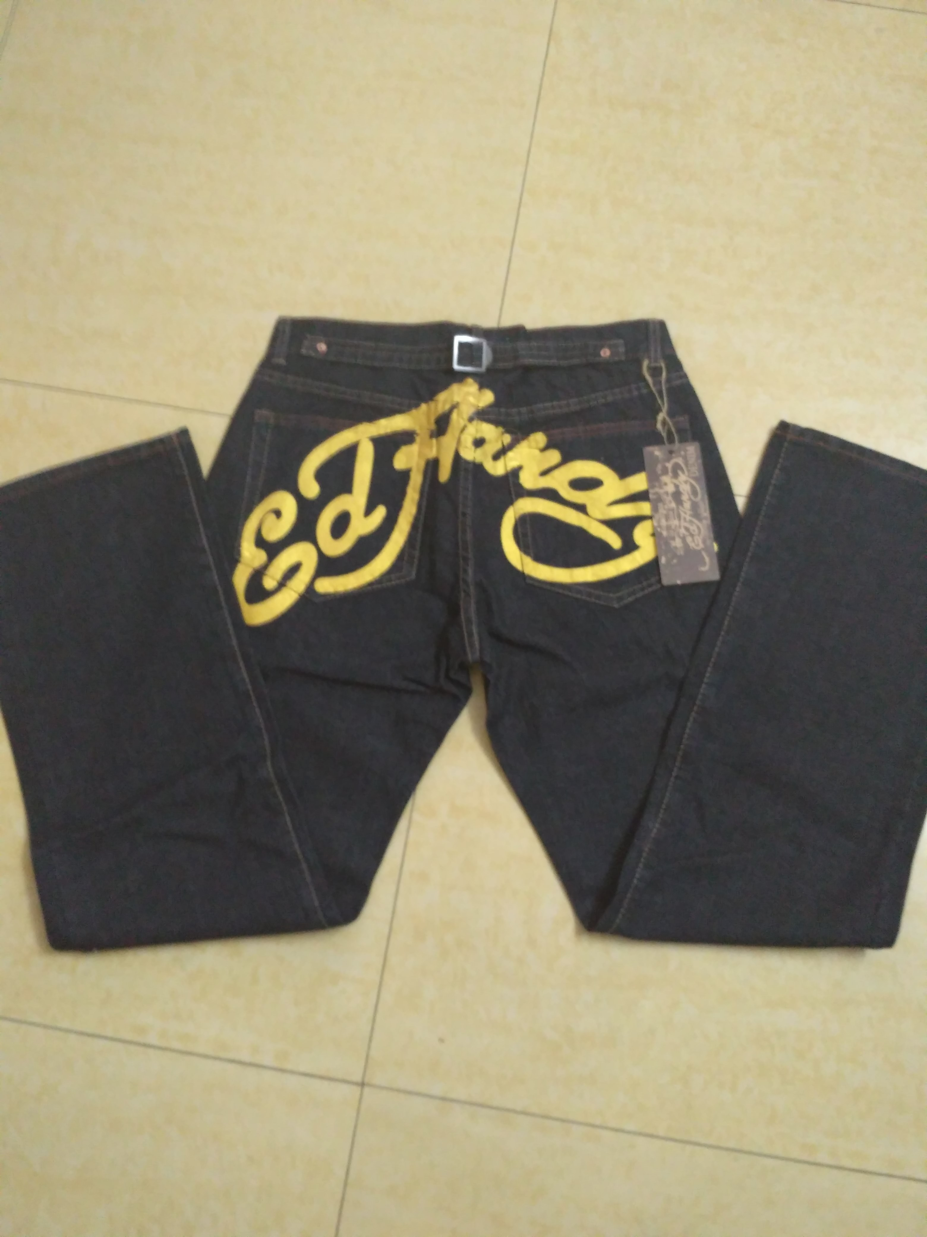 $22 cheap SPECIAL OFFER Christian Audigier Jeans for Men size 32 #243662 - [GT243662] free shipping | Replica SPECIAL OFFER