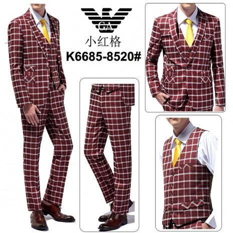 $164.0, Armani Suit 3PCS Sets #247477