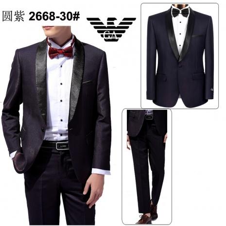 $137.0, Armani Suit 2PCS Sets #247479