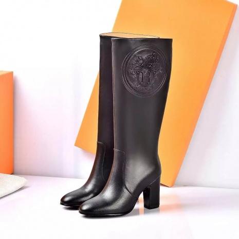 $137.0, HERMES 8.5cm heel Boots for women #252049