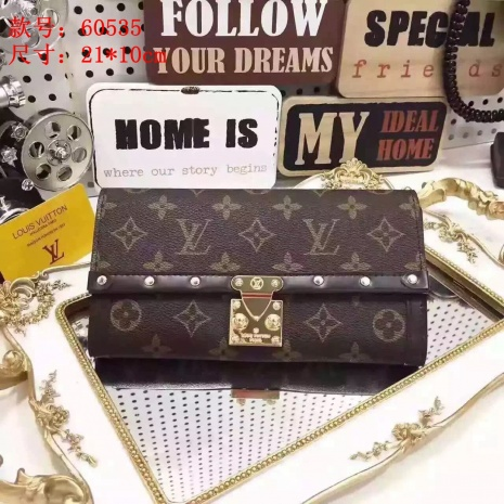 $46.0, Louis Vuitton aaa+ wallets #253280
