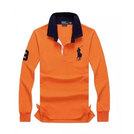 Ralph Lauren Long-Sleeved Polo Shirts for MEN #256657