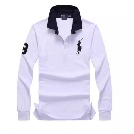 Ralph Lauren Long-Sleeved Polo Shirts for MEN #256658