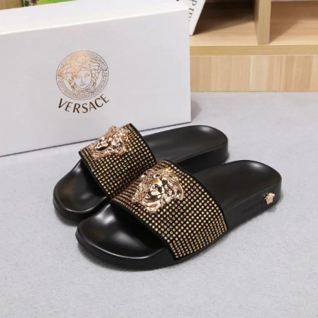 $64.0, versace Slippers for Women #259207