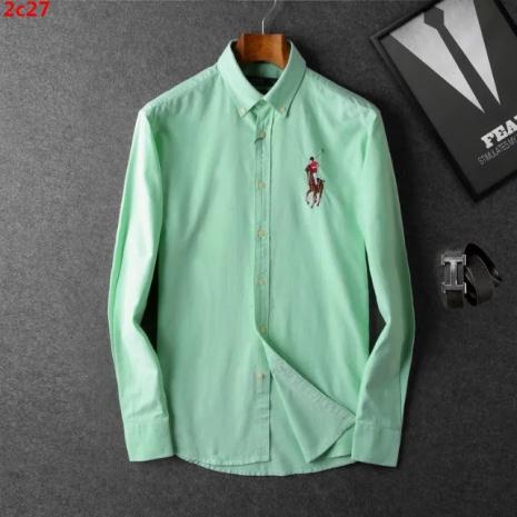 $39.0, Ralph Lauren Long-Sleeved Shirts for Men #266086