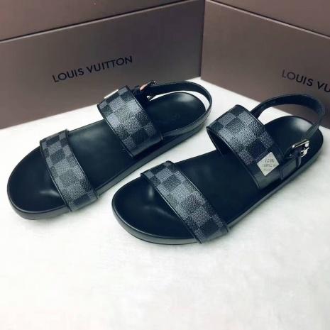 $46.0, Men's Louis Vuitton Slippers #266392