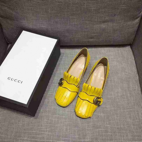 $91.0, Gucci 5cm High-heeled shoes for women #268596
