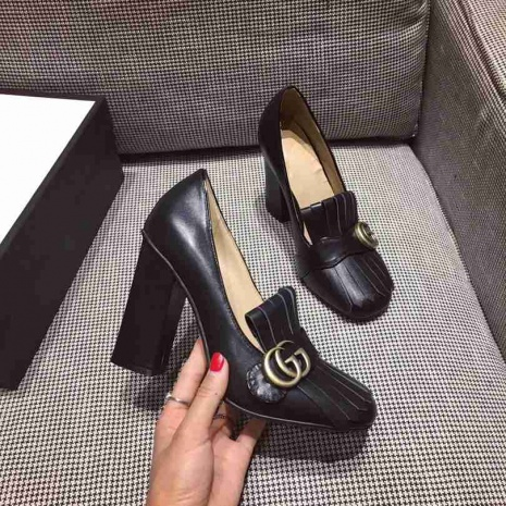 $96.0, Gucci 9cm High-heeled shoes for women #268601