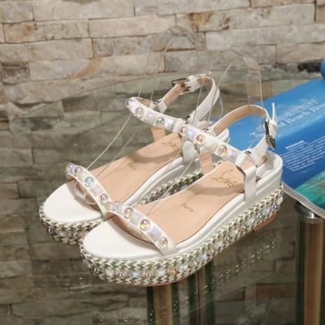 $96.0, Christian Louboutin 6cm High-heeled shoes for women #268745