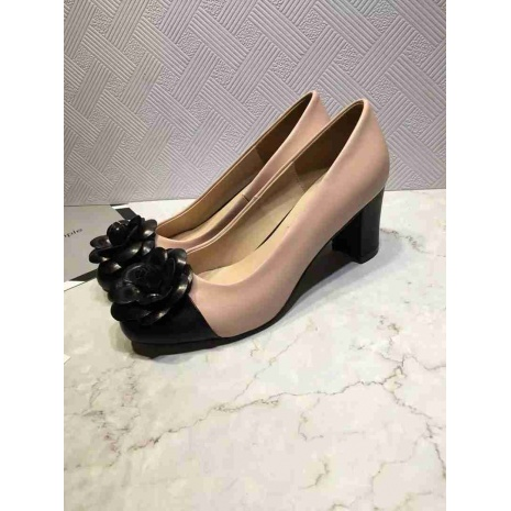 $87.0, Chanel 6cm High-heeled shoes for women #268793