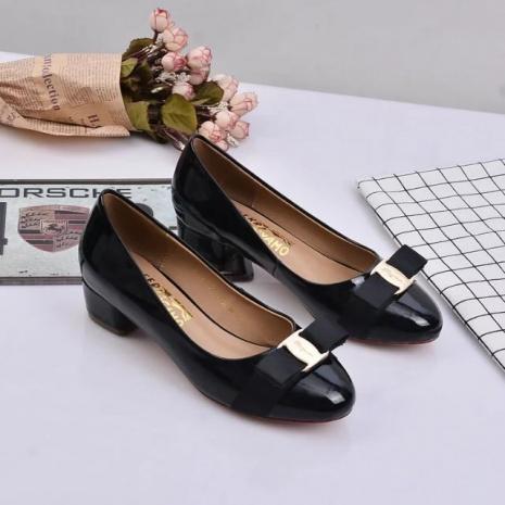 $70.0, Ferragamo 3.5cm High-heeled shoes for women #269878