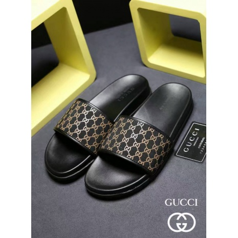 $54.0, Men's Gucci Slippers #273222