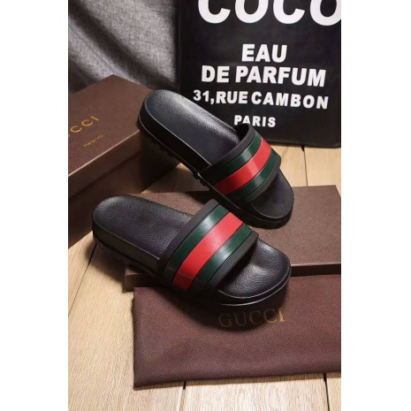 $47.0, Men's Gucci Slippers #273223