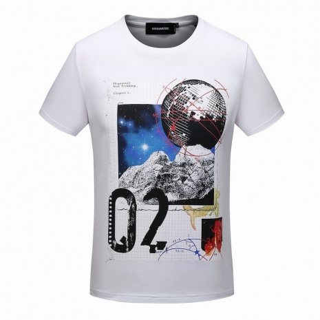 $18.0, Dsquared2 T-Shirts for men #273408
