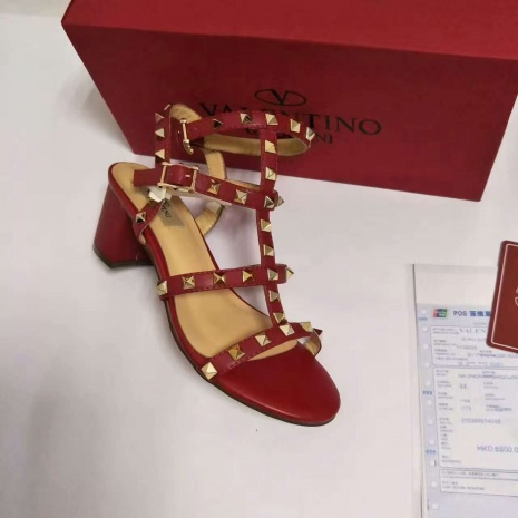 $58.0, VALENTINO 5.5cm High-heeled shoes for women #273421