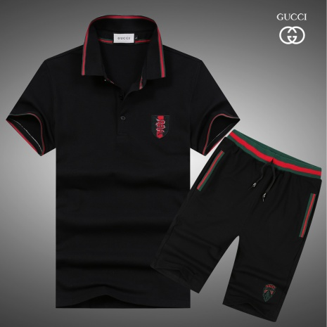 $47.0, Gucci short tracksuits for men #282692