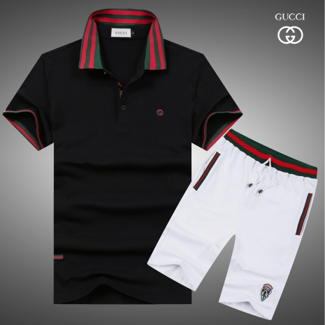 $47.0, Gucci short tracksuits for men #282694