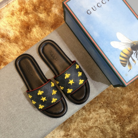 $43.0, Men's Gucci Slippers #282949
