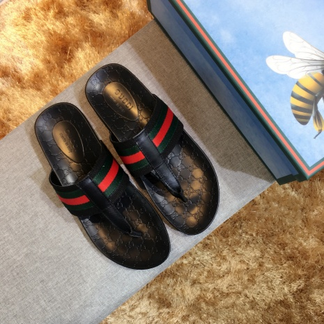 $43.0, Men's Gucci Slippers #282951