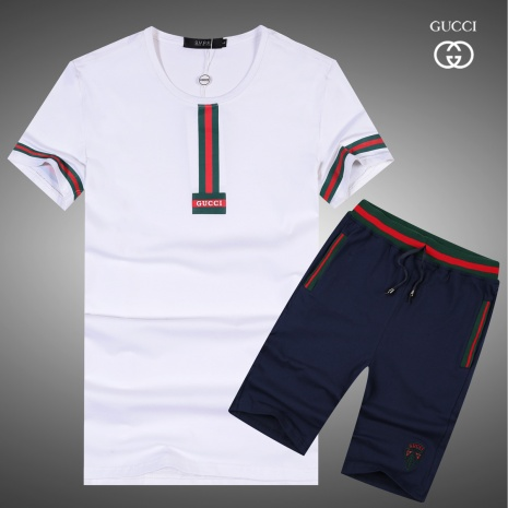 $43.0, Gucci short tracksuits for men #283314
