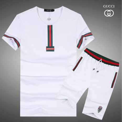 $43.0, Gucci short tracksuits for men #283315