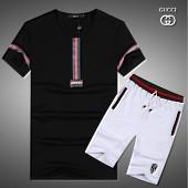 $43.0, Gucci short tracksuits for men #282615