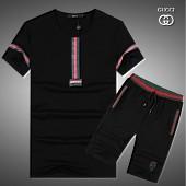 $43.0, Gucci short tracksuits for men #282617