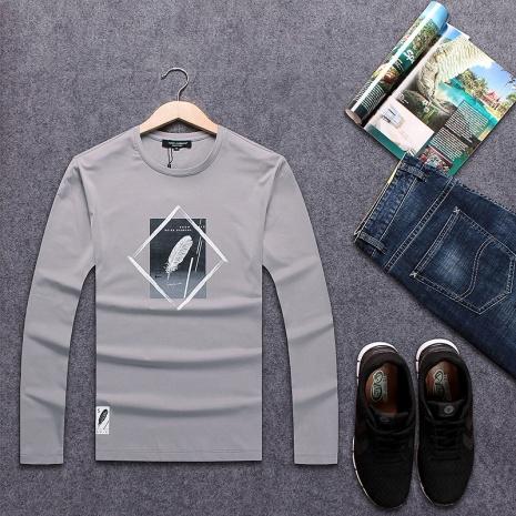 $20.0, D&G Long Sleeved T-shirts for Men #290633